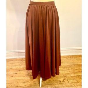 VINTAGE stunning handmade full maxi skirt